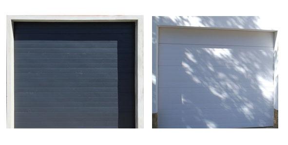 Aluminium Zinc Range Garage Doors